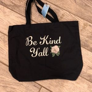 NWT Draper James Be Kind Y'all tote